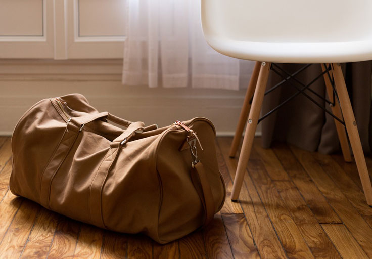 Use soft luggage if worried about bed bugs